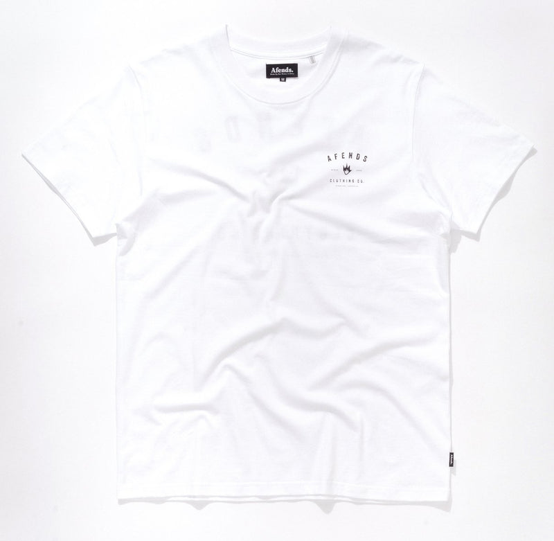 Afends Clothing Co Tee - White - Forestwood Co