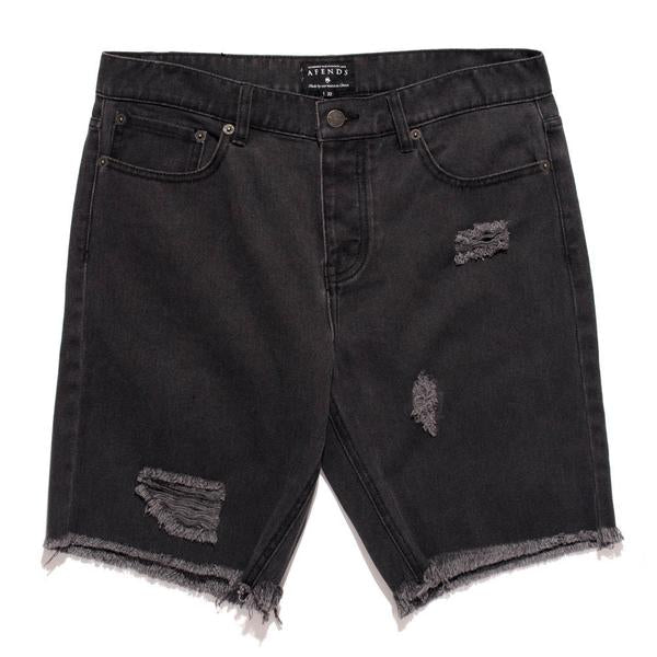 Afends Cut-Off Denim - Black - Forestwood Co