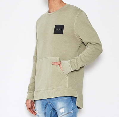 KSCY Dedication Step Hem Crewneck - Forestwood Co