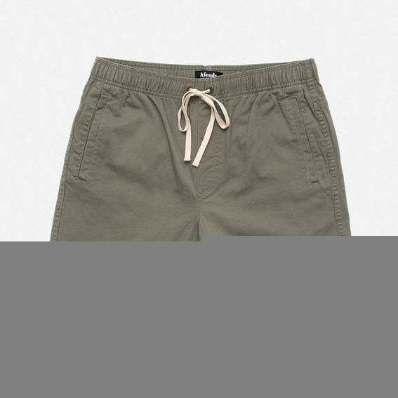 AFENDS Dendy Walkshort - Khaki - Forestwood Co