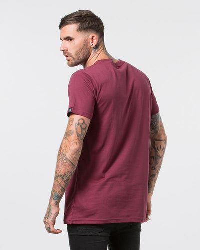 DVNT Devoid Tee - Oxblood - Forestwood Co