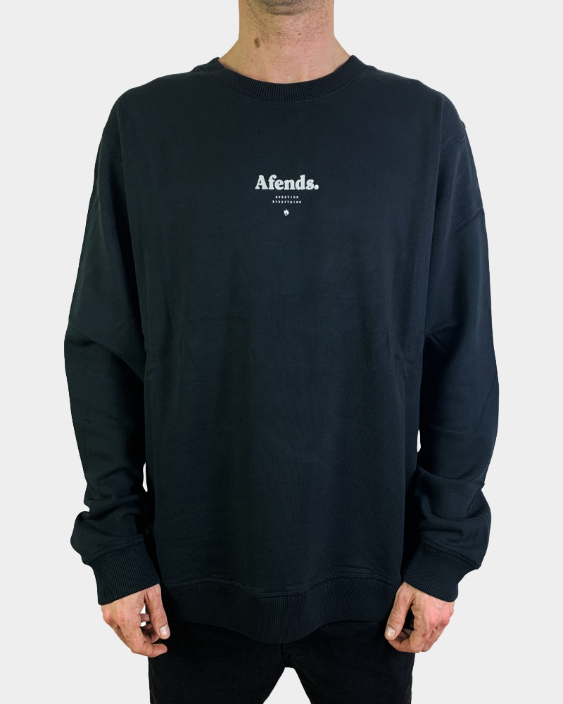 AFENDS Distorted Crewneck