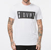 DVNT Ethos Logo Tee - White - Forestwood Co