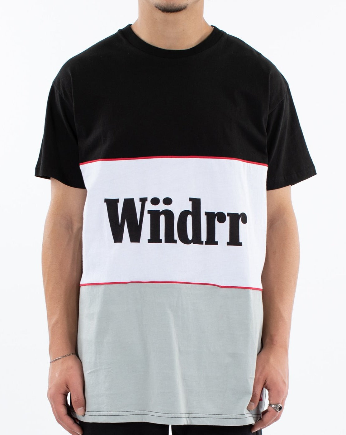 WNDRR Founders 3 Panel Custom Fit Tee