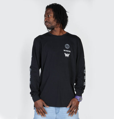 WNDRR Feedback Longsleeve - Black - Forestwood Co
