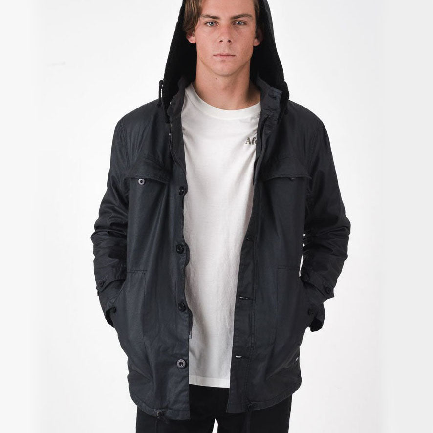 Afends Guerilla War Jacket - Forestwood Co