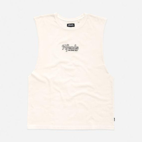 AFENDS Holidaze Tank - Gardenia - Forestwood Co