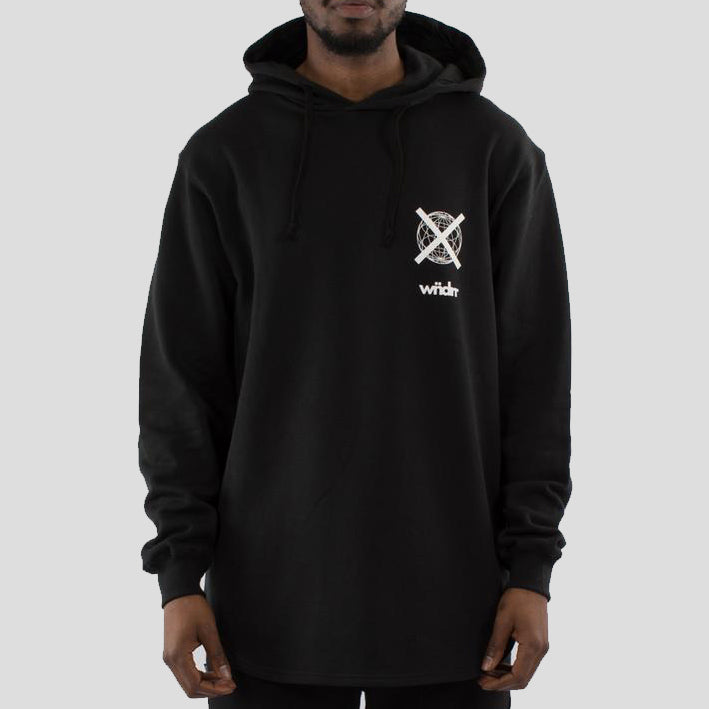 WNDRR Insurgent Curved Hem Hoodie - Forestwood Co