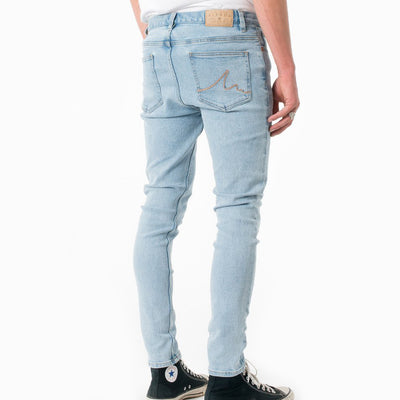 Afends Junkie Jeans - Stone Blue - Forestwood Co