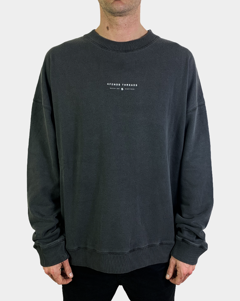 AFENDS Kicked Out Crewneck
