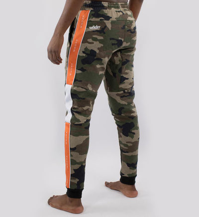 WNDRR Marshall V2 Tech Trackpant - Camo/Orange - Forestwood Co