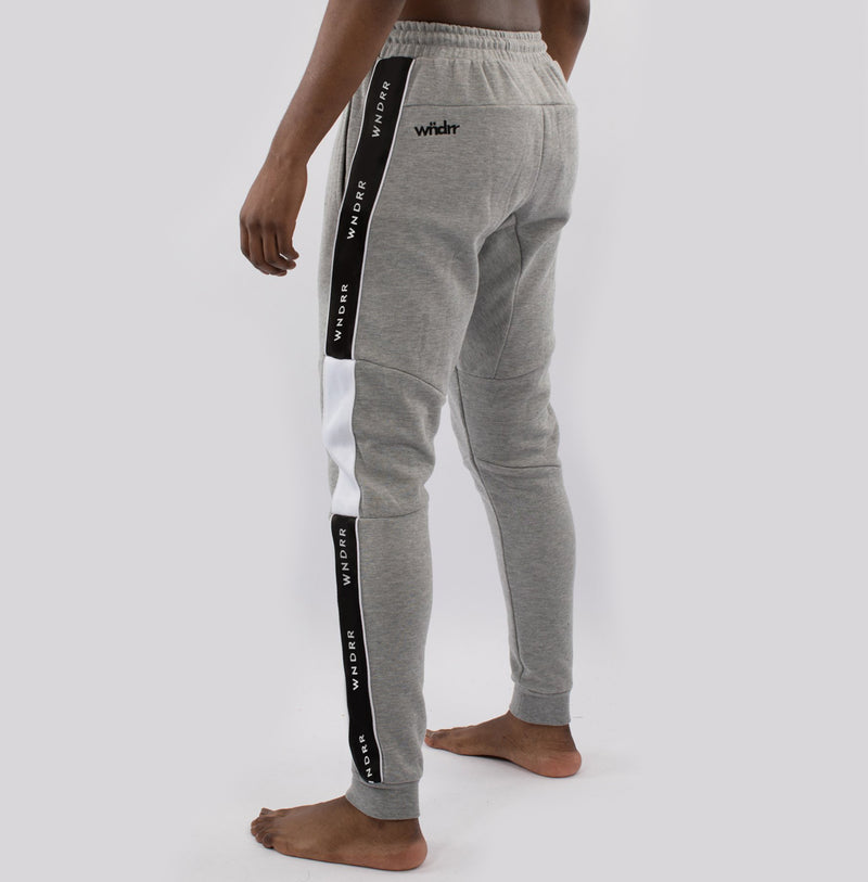 WNDRR Marshall V2 Trackpant - Marle/Black - Forestwood Co