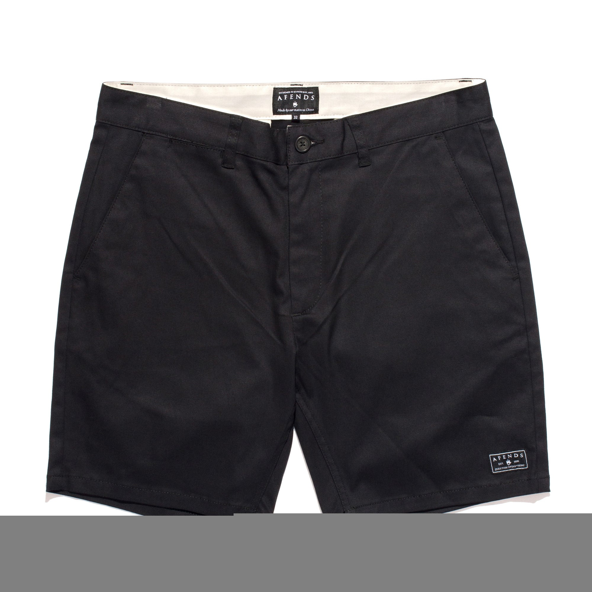 Afends Middy Chino Walkshorts - Forestwood Co
