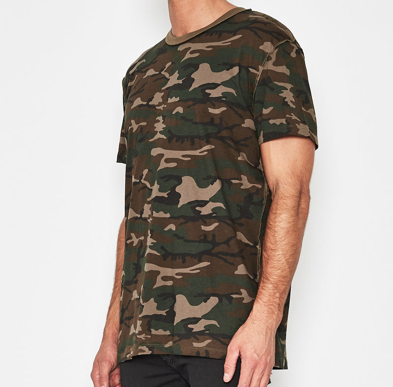 Sushi Radio Paranoid Big Fit Camo - Forestwood Co