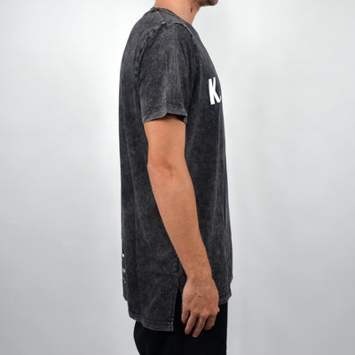 KSCY Part One Tall Tee - Acid Black - Forestwood Co