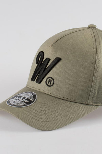 WNDRR Phillips Snapback - Olive Green - Forestwood Co
