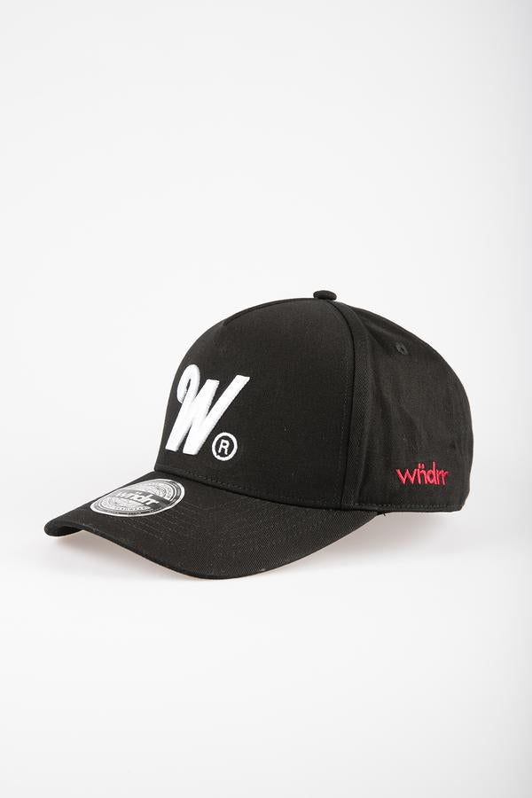 WNDRR Phillips Snapback - Black - Forestwood Co