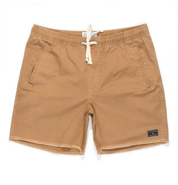 Afends Pint Walkshorts - Tan - Forestwood Co