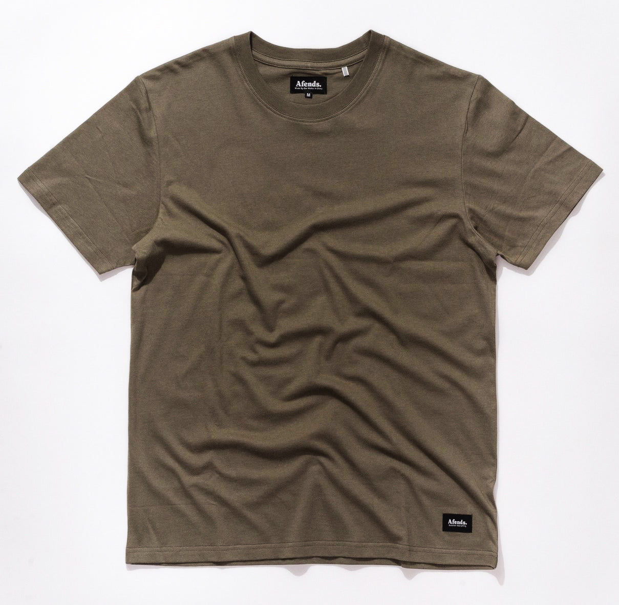 Afends Plain Standard Fit - Dusty Olive - Forestwood Co