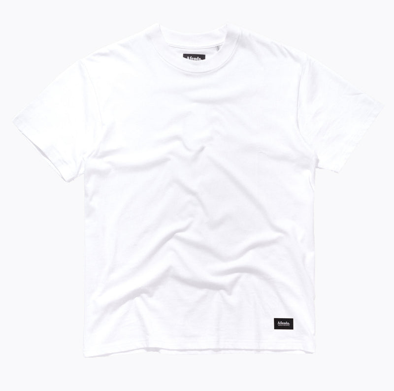Afends Plain Standard Fit - White - Forestwood Co