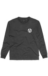 Afends Registered Longsleeve - Faded Black - Forestwood Co