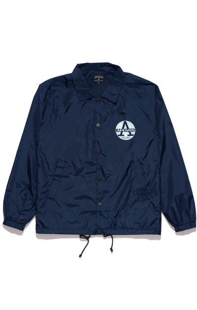 Afends Register Coaches Jacket - Forestwood Co
