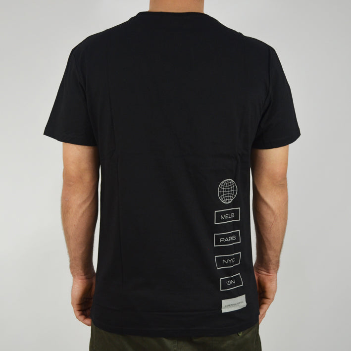 Grand Scheme Schemers Tee - Black - Forestwood Co