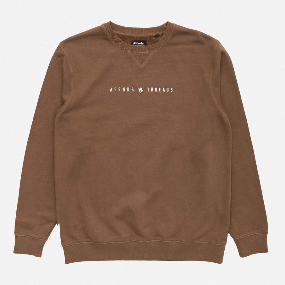 Afends Since06 Crewneck - Kangaroo - Forestwood Co
