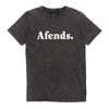 Afends II Logo Tee - Acid Black - Forestwood Co