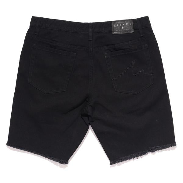 Afends Stock Cut-Off Denim - Black - Forestwood Co