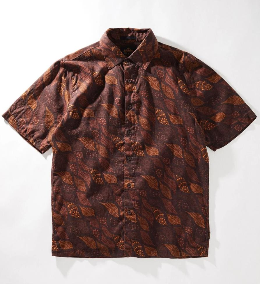 Afends Salt Water Dreamtime Hemp Shirt - Forestwood Co