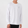 Afends Threads Longsleeve - White - Forestwood Co