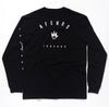 Afends Threads Longsleeve - Black - Forestwood Co