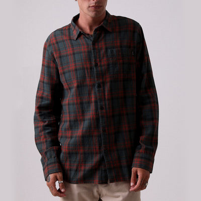 Afends Tinnie Button-Up - Forest - Forestwood Co