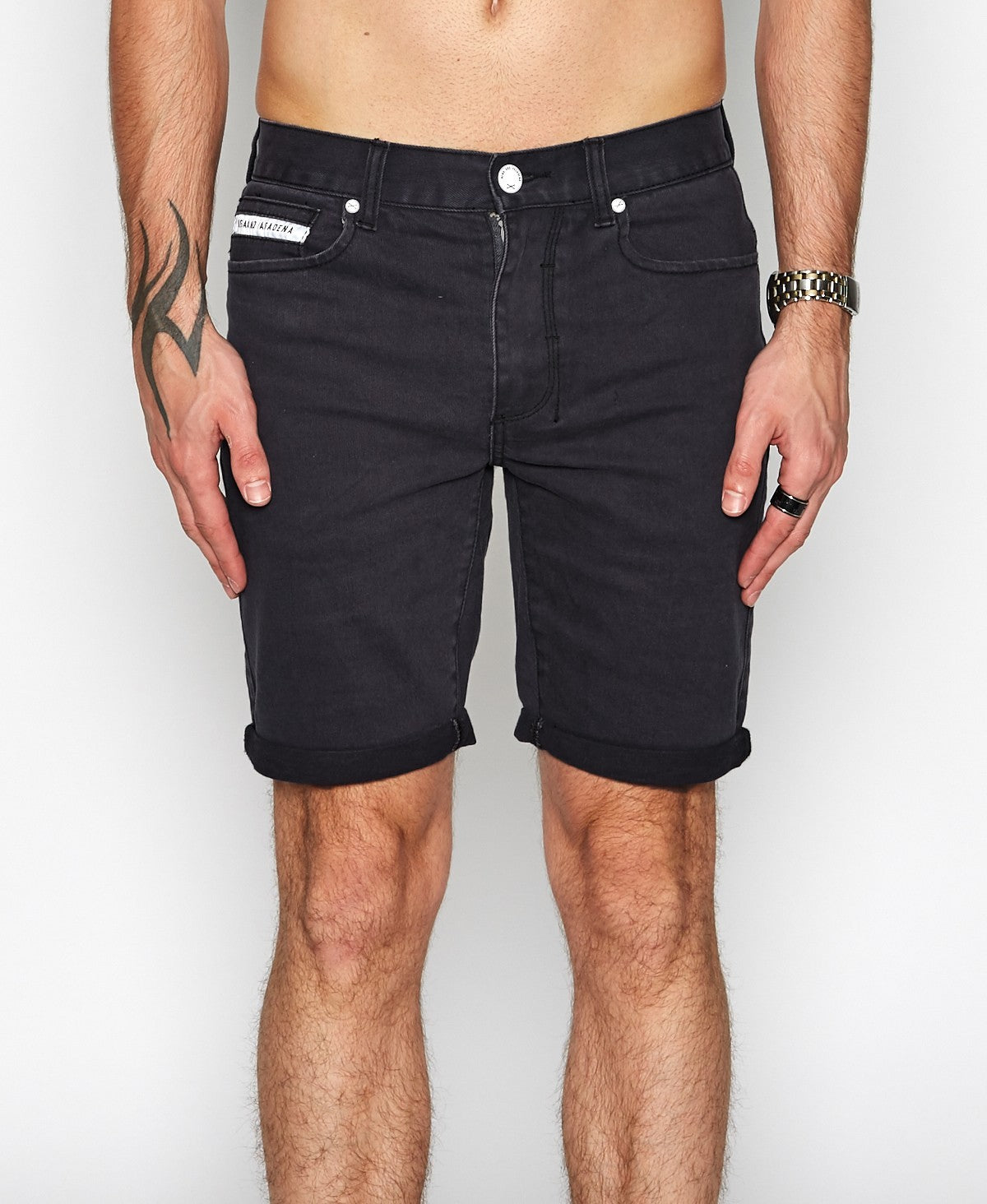 NxP Turn It Up Shorts - Charcoal - Forestwood Co