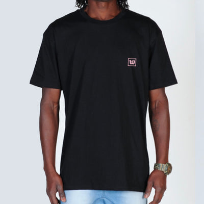 WNDRR Venice Stacked Tee - Black - Forestwood Co
