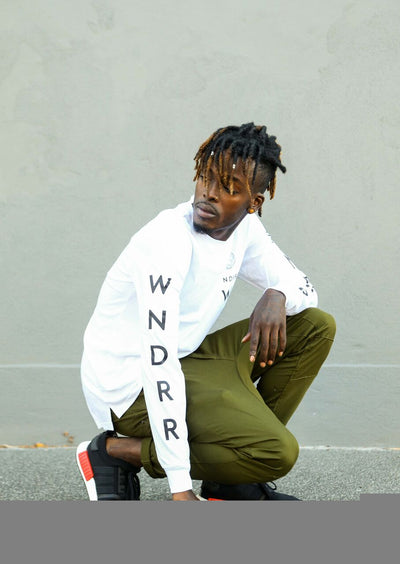 WNDRR Feedback Longsleeve - White - Forestwood Co
