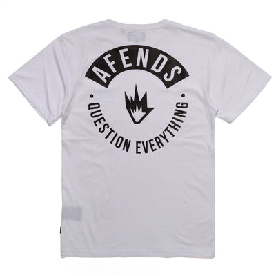 Afends Yub Pocket Tee - White - Forestwood Co