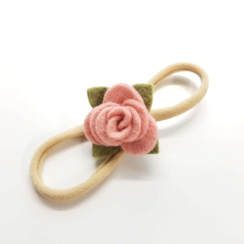 Tiny Rosette, Baby headband, salet item