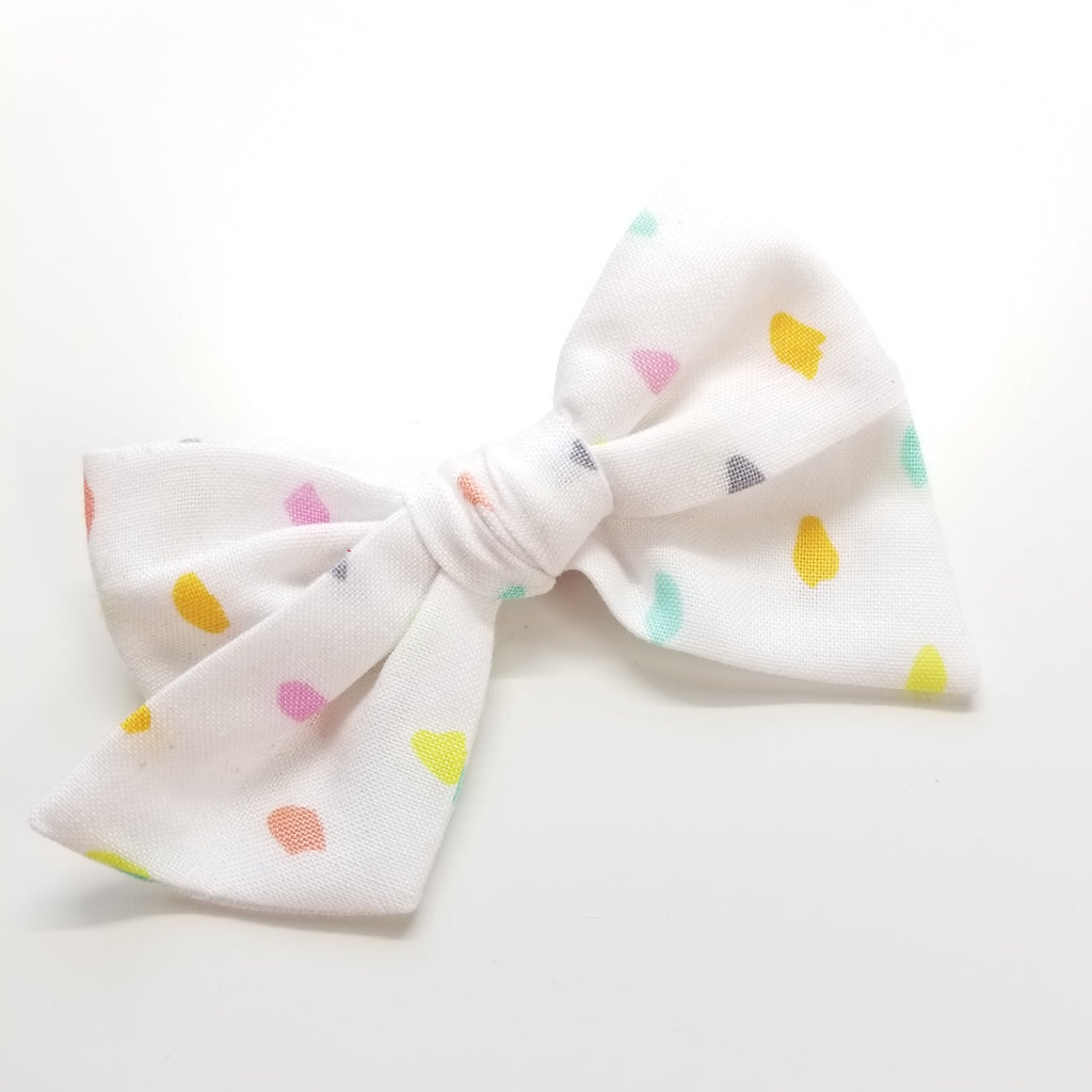White dots Bow alligator clip, Vanaguelite Sale