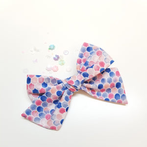 Baby Bows, Mermaid Bows, Nylon Headbands or Hair Clip