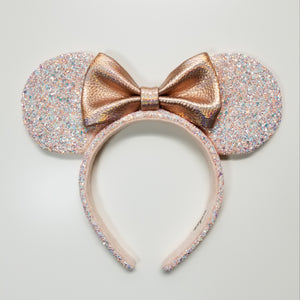 Mouse Ears headband, Rose gold Ears