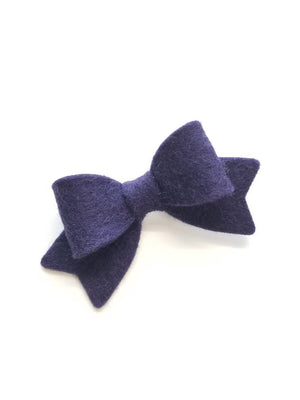 Baby bows, Handmade Mini Bows, set of 3, Baby headbands, nylon fits all, hot coral, smokey, navy, Baby girl set, hair clips