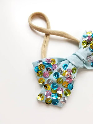 Fantasy Bows, Nylon Headbands or Hair Clip