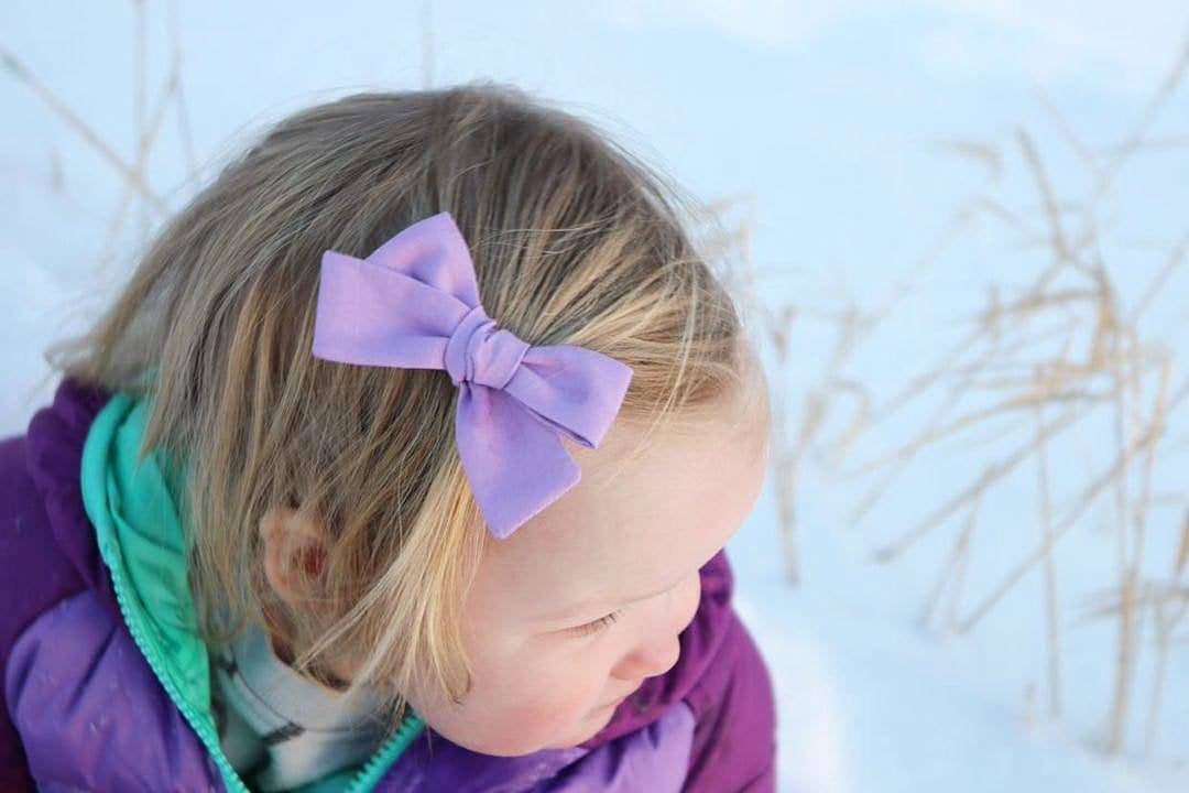 Baby Bows, nylon headbands, Rainbow baby girl headbands, Pastel Colors hair accessories, baby headbands or hair clips, 3.25 inches