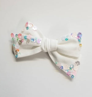Fantasy Spring Bows, Nylon Headbands or Hair Clip