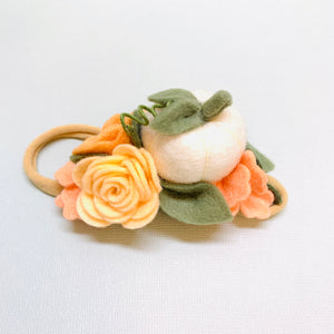 Little Pumpkin Headband, baby hair accessories