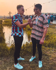 Tropical Africa: festival outfits for men