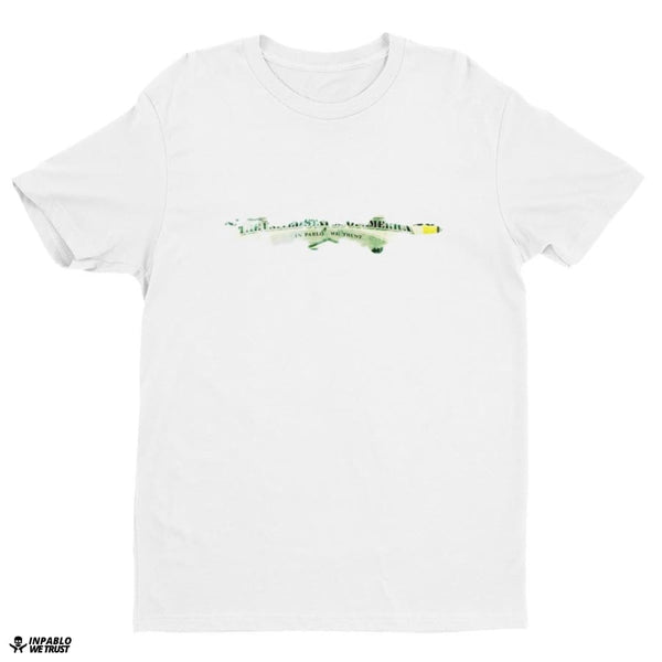 Ipwt Dollar Bullet Men Tee - White / Xs
