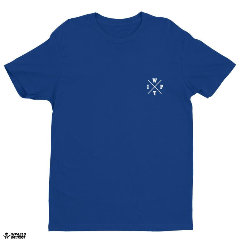 Ipwt Mason Men Tee - Royal Blue / Xs